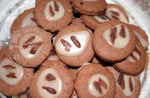 Шоколадно-апельсинове печиво