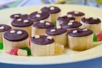 Шоколадно-бананові цукерки