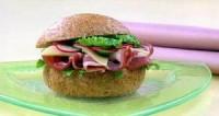 Сендвічі з беконом і редисом