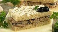 Сендвічі з паштетом із сардин