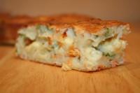 Швидкий «пиріг» з фаршу і картоплі