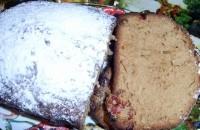 Солодкий дачний кекс-хліб