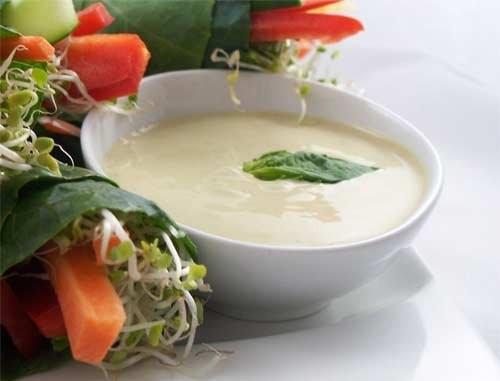 Вершковий соус французький до салатів