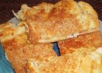Листковий курино-сирний пиріг