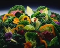Листковий салат з тунцем