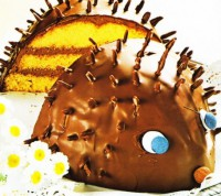 Листковий шоколадний їжачок