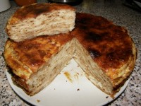 Солоний млинцевий пиріг