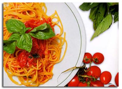 Спагетті «Ніцца»