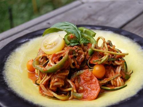 Спагетті з овочами: 5 рецептів