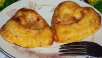 Суфле з рибкою і сиром