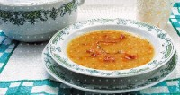 Суп гороховий з копченим гусаком або качкою