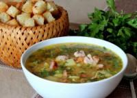 Суп гороховий з реберцями (в мультиварці)