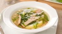 Суп з окосту з овочами «по-іспанськи»