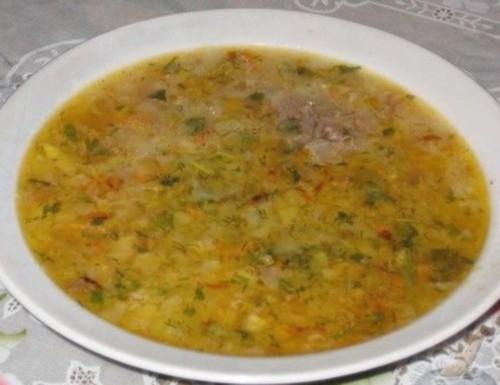 Суп «Капусняк» по-полтавськи