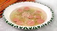 Суп «консоме» по-німецьки