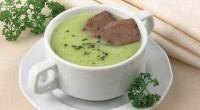 Суп-пюре з горошку і капусти