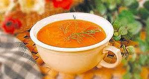 Суп-пюре з моркви