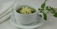 Суп-пюре зелений з сиром