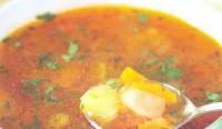 Суп пісний з маринованим перцем