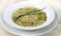 Суп з хлібом і яйцем по-італійськи