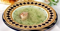 Суп з куркою та рисом