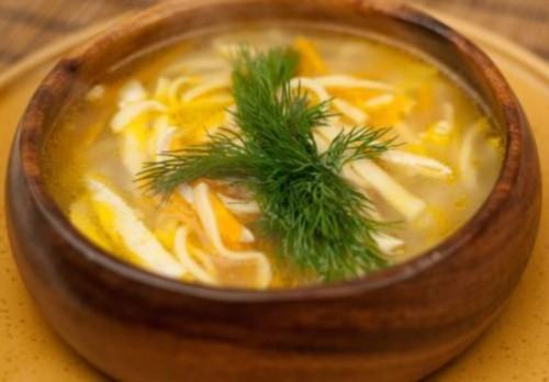 Суп з локшиною по-татарськи