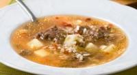Суп з лечо та тушонкою
