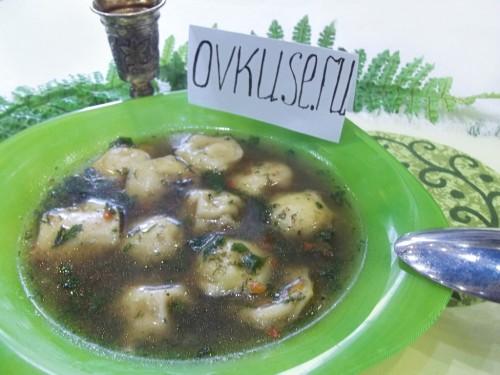 Суп з пельменями, рецепт приготування з фото