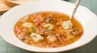 Суп з рибою і галушками