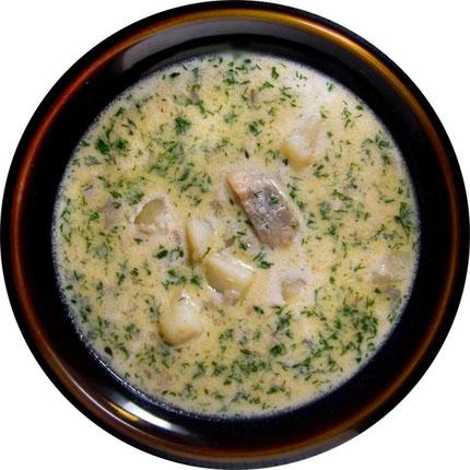 Суп з оселедцем