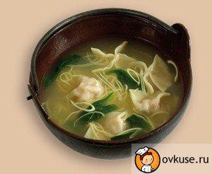 Суп «весняний» з пельменями