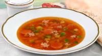 Суп «зимовий вечір»