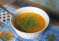 Супчик з морквою і апельсиновим соком