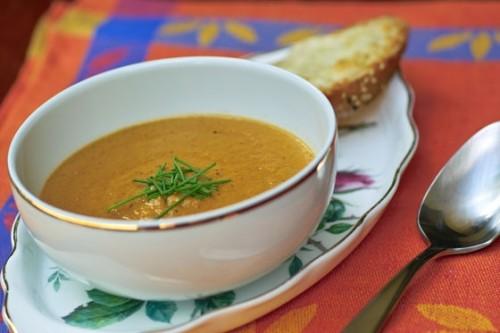 Супи-пюре з баклажанів - смачні рецепти