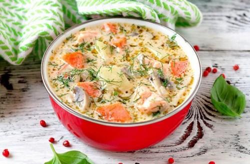 Супи з фореллю: 4 рецепта