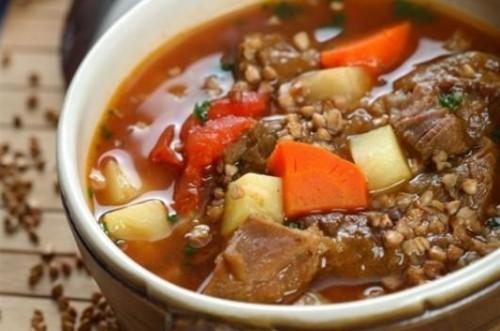Супи зі свининою та крупами - повсякденні рецепти