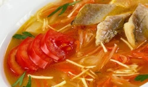 Суворовська юшка з рибою