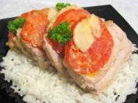 Свинина «гармошка» (фото рецепт)