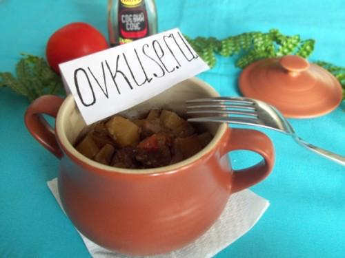 Свинина в горщиках, рецепт приготування з фото