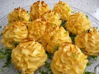 Сирно-картопляні трояндочки