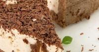 Сирно-шоколадний торт