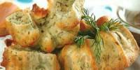 Сирні кекси з кмином і кропом