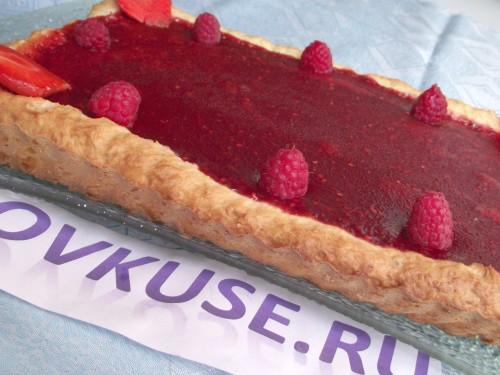 Тарт з ягодами, рецепт приготування з фото