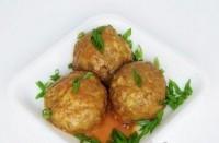 Тюфтельки з томатним соусом
