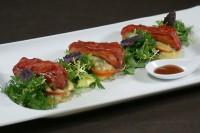 Теплий салат з курки по-китайськи