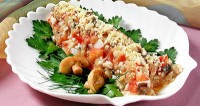 Теплий салат з лисичок