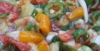 Теплий салат-соус до шашликів