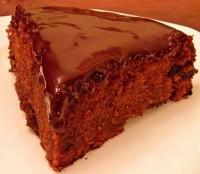Теплий шоколадно-йогуртовий торт