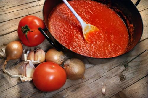 Томатно-цибулевий соус-заготовка