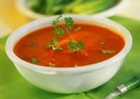 Томатний суп з рисом по-польськи